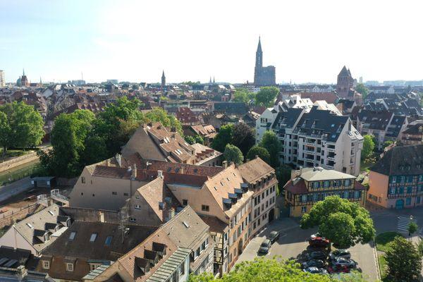 Le séisme s'est produit à 9 km de Strasbourg.