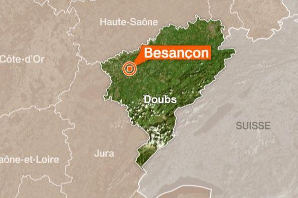 Caméra de surveillance à Besançon