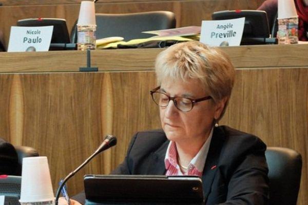 La socialiste Geneviève Lagarde était candidate à la présidence du conseil général du Lot