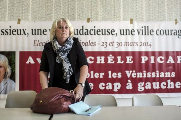 Michèle Picard,maire communiste de Venissieux