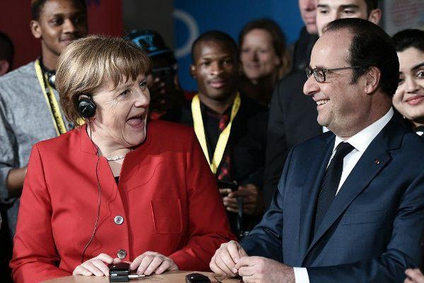 Belle ambiance lors de la rencontre avec les 80 jeunes franco-allemands, jeudi 7 avril 2016 à Metz.