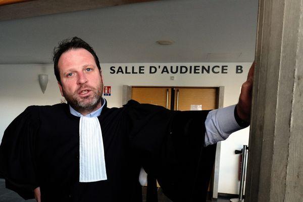 Maître Frédéric Berna au Palais de Justice de Besançon