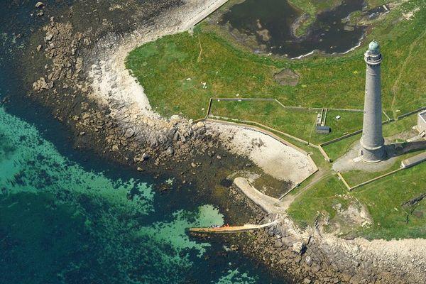 Vue de l'île Vierge à Plouguerneau