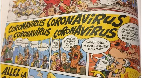 Coronavirus De L Humour Sur Le Web Pour Oublier L Epidemie Et Le Confinement