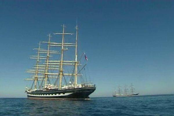 Le Sedov en Méditerranée - avril 2014.