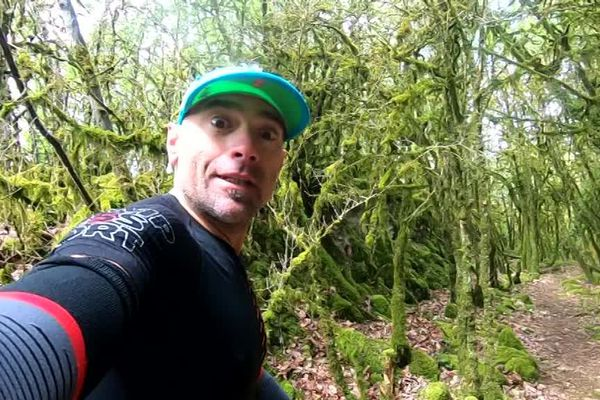 Laurent Sitbon, un habitué du Trail des Forts