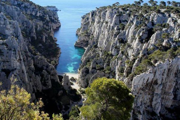 Le corps a été retrouvé dans la calanque d'En Vau, entre Marseille et Cassis