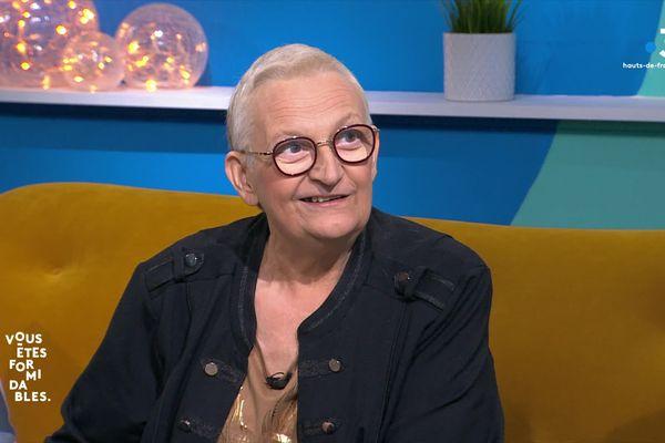 """""""De chaque souffrance j'ai retiré quelque chose de bénéfique. Donc, je ne peux pas être malheureuse d'avoir vécu cette vie de merde"""", sourit la roubaisienne Marianne Garcia."""