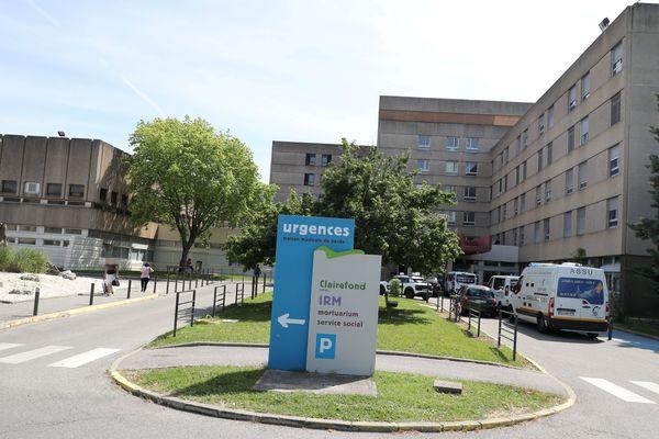 L'hôpital de Romans-sur-Isère compose avec celui de Saint-Vallier les Hôpitaux Nord-Drôme. Image d'archives.