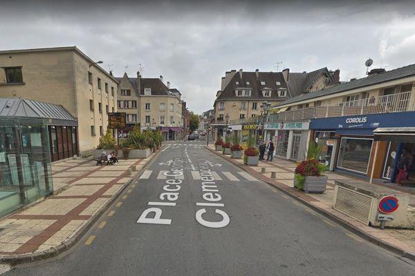 Un passage piéton 3D sera installé à Beauvais, place Clémenceau, où se situe la gare des bus urbains.