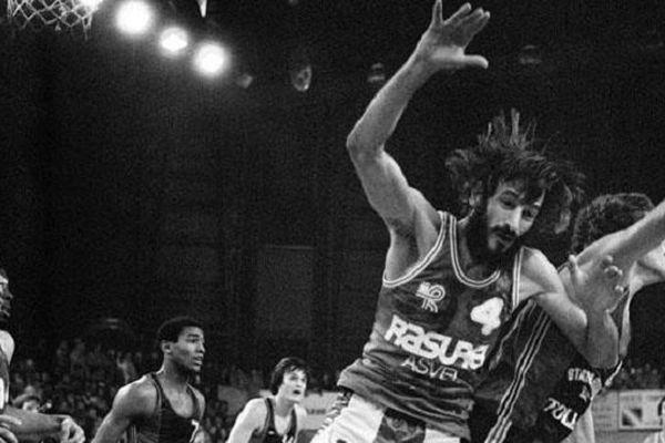 Alain Gilles une légende du basket-ball français.