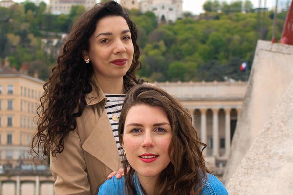 Marion Dufenne et Marion Thièrion, fondatrices lyonnaises de l'application Vocaléo