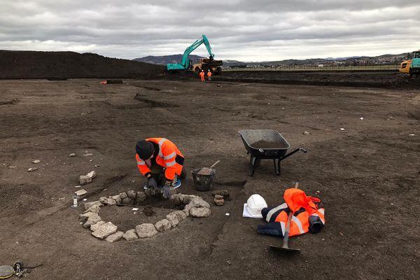 Après 3 mois de fouilles, les archéologues laisseront la place aux nouveaux aménagements.