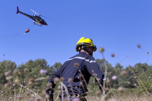 Image d'illustration - Les incendies se multiplient en France avec la sécheresse.