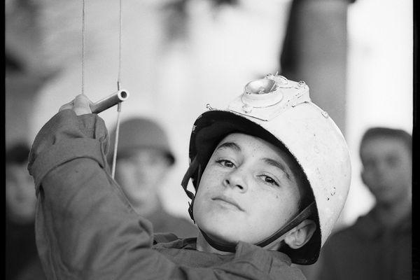 Portrait à l'école des enfants de troupe d'Aix-en-Provence, 1962-1963.