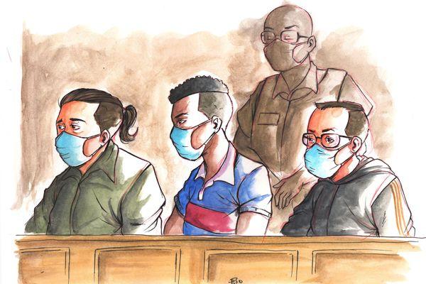 La deuxième journée du procès devant la cour d'assises a été consacrée au profil de deux des accusés