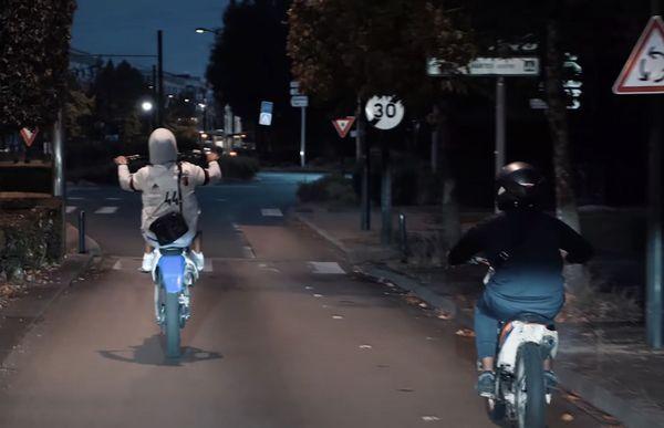 Le clip montre les pratiques de certains jeunes de ce quartier nantais.