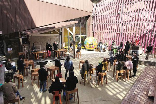Paloma, la Scène de Musiques Actuelles de Nîmes est occupée par les intermittents qui réclament la réouverture des lieux dédiés à la culture