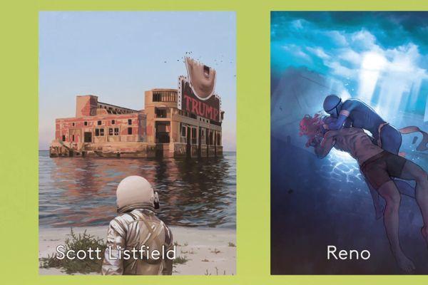Scott Listfield et Reno pour le petit Livre bleu