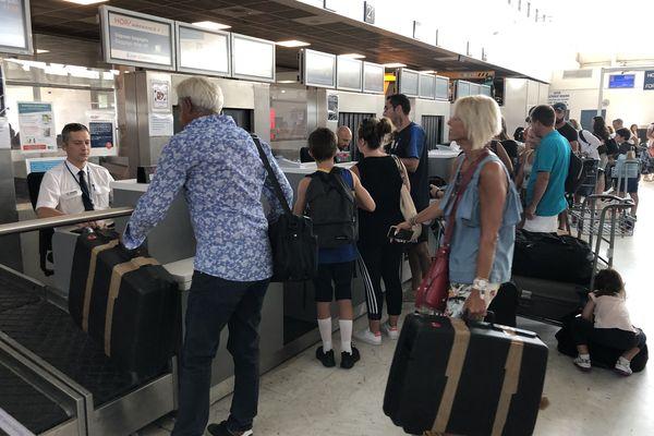 ILLUTRATION/ L'aéroport de Bastia, habituellement, durant la saison touristique