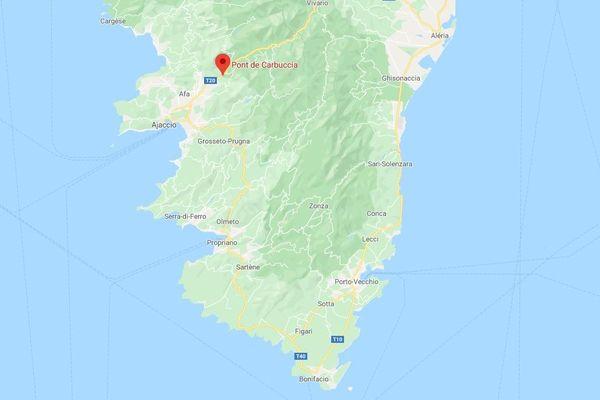Jeudi 25 juin, une jeune femme est morte dans un accident de voiture au niveau du pont de Carbuccia en Corse-du-Sud.