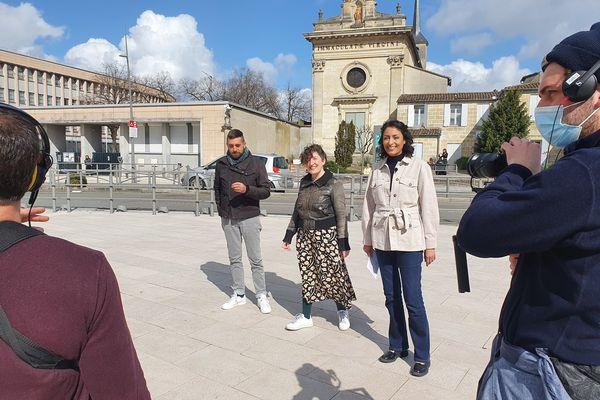 Caroline Melon, directrice artistique de la Compagnie De Chair et d'Os avec son associé Jonathan Macias