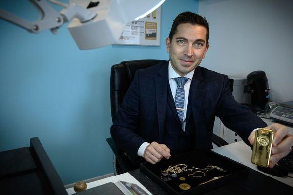 Christophe Gerber, fondateur d'Or en Cash