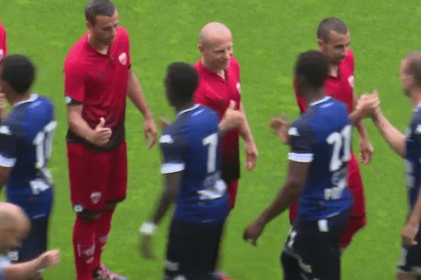 Match amical à Troyes entre l'ESTAC et le DFCO ce vendredi 22 juillet