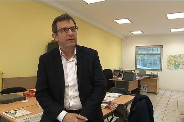 Le député Christophe Borgel, président national du comité d'organisation de la primaire élargie du PS