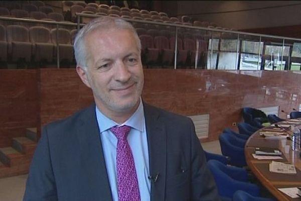 Christophe Perny, Président du Conseil Général du Jura