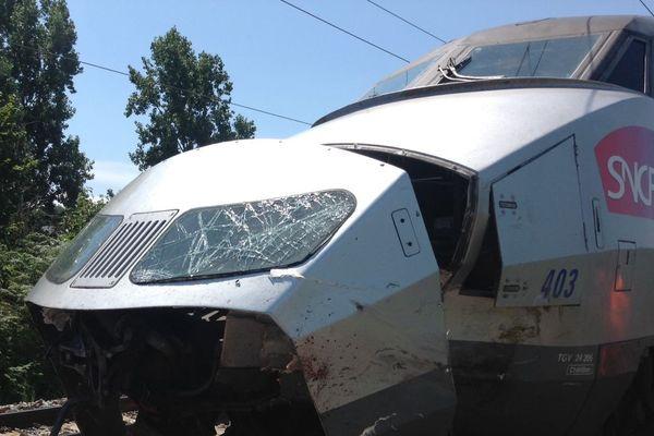 Le TGV Nantes-Lille percute un troupeau de bovins : trafic perturbé en Pays de la Loire