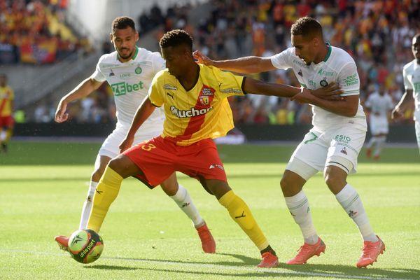 Le RC Lens est parvenu à arracher le match nul à l'ASSE dans le dernier quart d'heure de la rencontre.