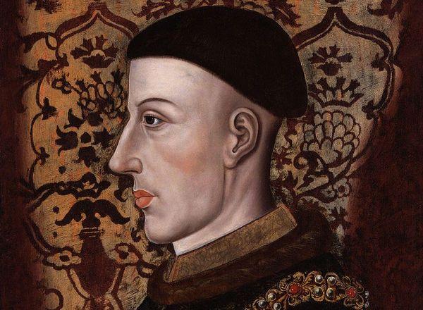 Portrait du véritable Henry V, conservé à la National Portrait Gallery à Londres.