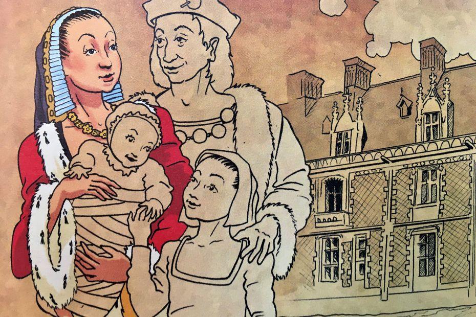 Sur les pas de la Blanche Hermine et de la Duchesse Anne de Bretagne
