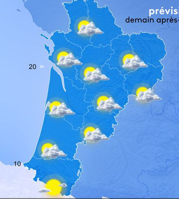 Les prévisions météo France 3 Nouvelle-Aquitaine du dimanche 1er août