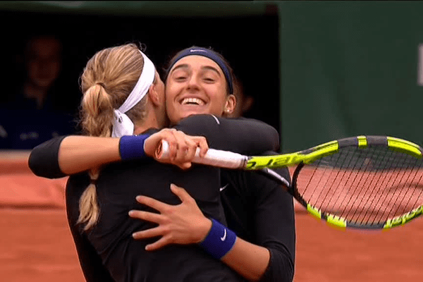 Après le match de demi-finale de Roland Garros- 2016