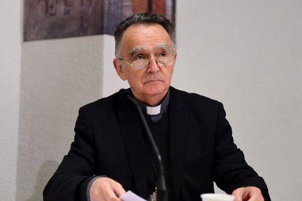 Mgr Pontier, archvêque de Marseille.
