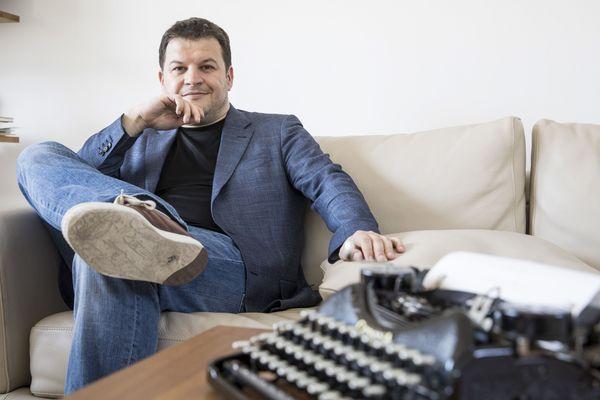 L'Antibois Guillaume Musso, romancier numéro un des ventes en France.