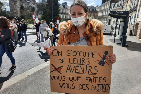 Marion Garabedjan est AED à Loudéac (22) depuis quatre ans.
