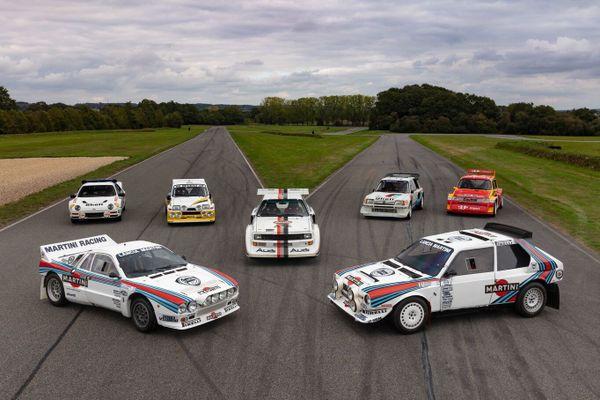 """Les sept """"groupe B"""" provenant du Manoir de l'Automobile mises en vente le 5 février"""