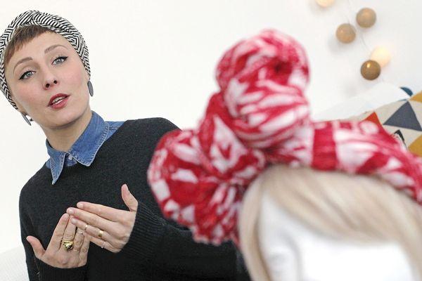 Julie Meunier a le sourire et elle le redonne à des femmes malades !