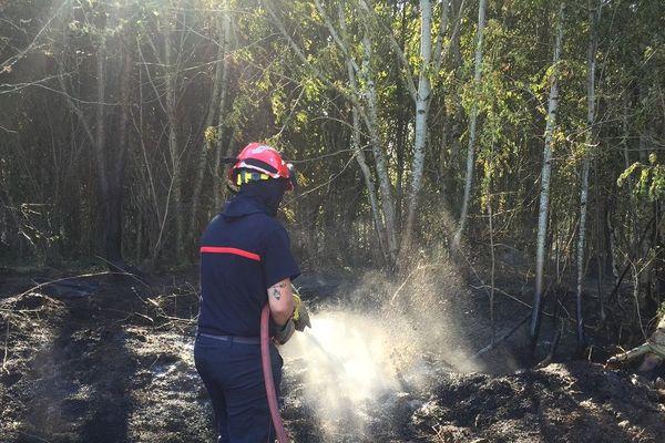 Un incendie rapidement maîtrisé à Montaigut-le-Blanc