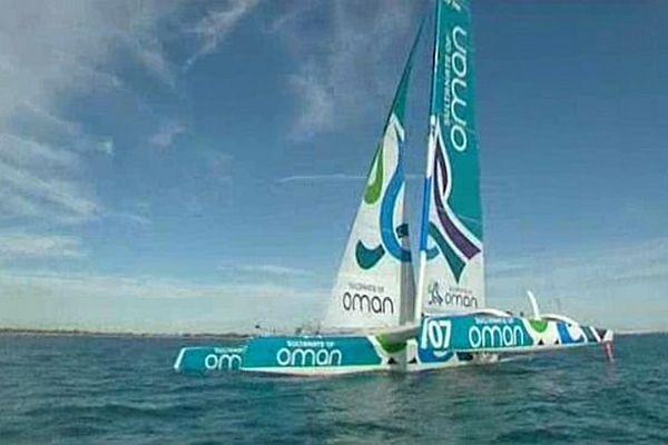 Le Mod 70 Musandam-Oman Sail en médittérannée.