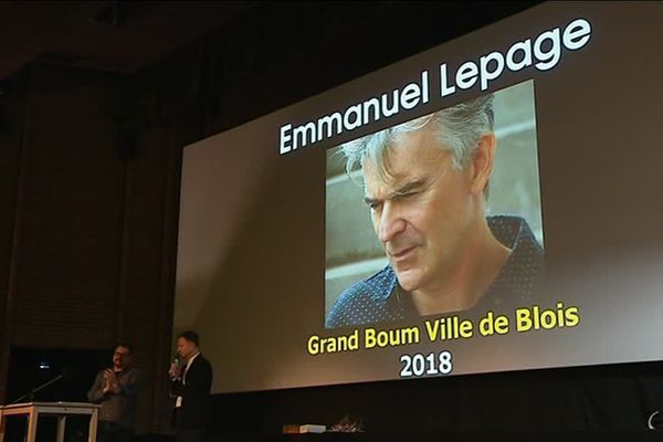 "Emmanuel Lepage, ""Grand Boum 2018""."