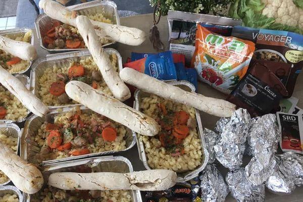 Les plats chauds préparés sont mitonnés avec amour par les bénévoles du Grand-Nancy
