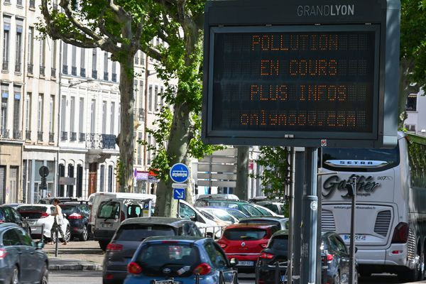 La qualité de l'air s'améliore en Auvergne-Rhône-Alpes selon le bilan 2019 dressé par l'association ATMO.