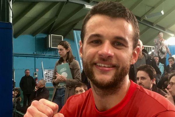 Quentin Robert, vainqueur de l'Open 86 2019.