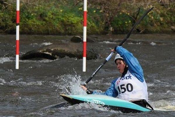 Lucie Prioux troisième de la finale N2 à Goumois , 21 octobre 2013