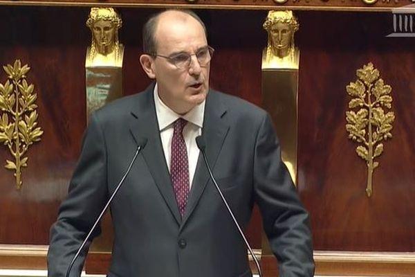Jean Castex, le Premier ministre s'est présenté devant les députés à l'assemblée nationale