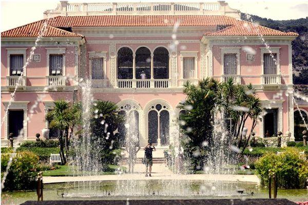 La villa Ephrussi de accueille chaque année des milliers de visiteurs.